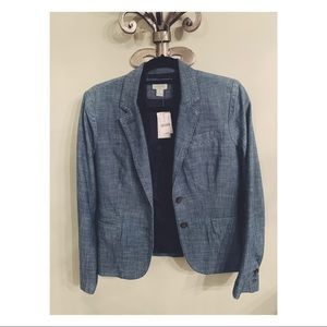 JCREW Never Been Worn with Tags Blue Blazer